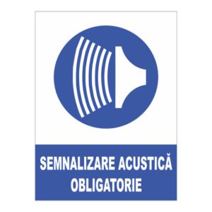 indicator semnalizare acustica