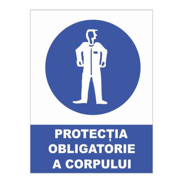 indicator protectia obligatorie a corpului