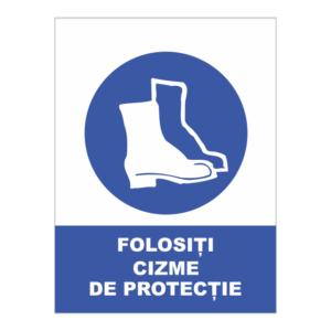 indicator cizme de protectie