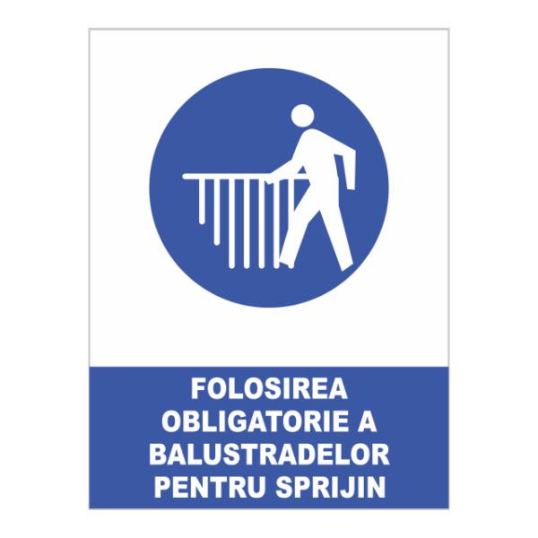 indicator folositea obligatorie a balustradelor