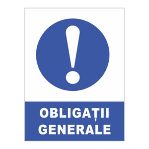 indicator obligatii generale