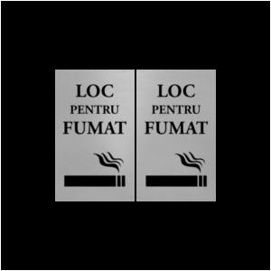 loc pentru fumat