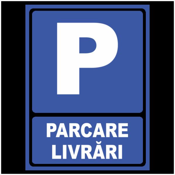 indicator parcare livrari