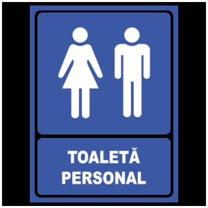 indicator toaleta personal