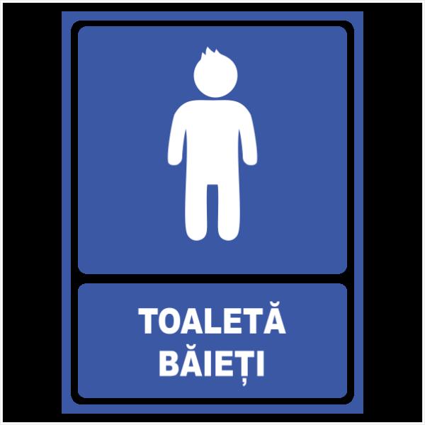 indicator toaleta barbati