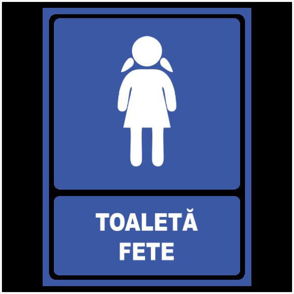 indicator toaleta fete