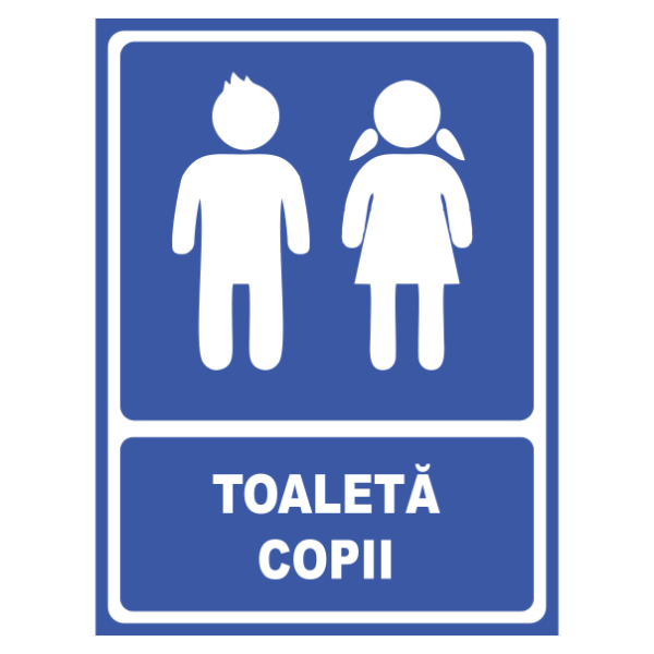 indicator toaleta copii